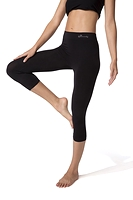 Boody Organic Bamboo Eco Wear 3/4 Leggings Black