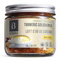 Botanica Turmeric Golden Mylk Organic 110g / 25 Servings