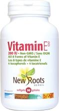 New Roots Vitamin E 200 iu 90 gels