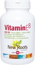 New Roots Vitamin E 400 iu 60 gels
