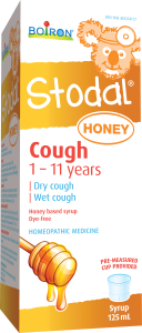 Boiron Kids Stodal Honey Cough syrup 125 ml