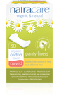 Natracare Panty Liners Curved 30-count