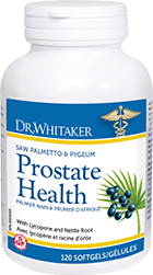 Dr. Whitaker Prostate Health Saw Palmetto & Pygeum 120 softgels