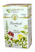 Celebration Herbals Burdock Root Herbal Tea 24 Tea Bags / 43 g