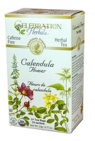 Celebration Herbals Calendula Flower Herbal Tea 24 Tea Bags / 22 g