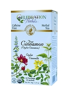 Celebration Herbals True (Ceylon) Cinnamon Herbal Tea 24 Tea Bags / 36 g