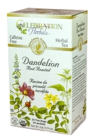 Celebration Herbals Dandelion Root Roasted Herbal Tea 24 Tea Bags / 21 g