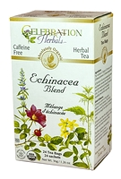 Celebration Herbals Echinacea Blend Herbal Tea 24 Tea Bags / 36 g