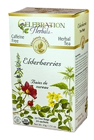 Celebration Herbals Elderberry Herbal Tea 24 Tea Bags / 43g