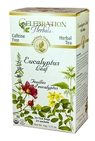Celebration Herbals Eucalyptus Leaf Herbal Tea 24 Tea Bags / 43 g