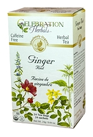 Celebration Herbals Ginger Root Herbal Tea 24 Tea Bags / 24 g