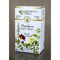 Celebration Herbals Hawthorn Leaf & Flower Herbal Tea 24 Tea Bags / 36 g