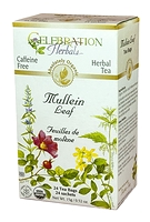 Celebration Herbals Mullein Leaf Herbal Tea 24 Tea Bags / 15 g