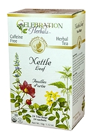 Celebration Herbals Nettle Leaf Herbal Tea 24 Tea Bags / 32 g