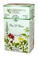 Celebration Herbals Pau D'Arco Herbal Tea 24 Tea Bags / 48 g