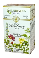 Celebration Herbals Red Raspberry Leaf Herbal Tea 24 Tea Bags / 40 g