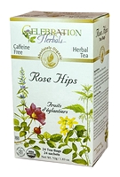 Celebration Herbals Rose Hips Herbal Tea 24 Tea Bags / 52 g