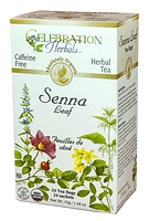 Celebration Herbals Senna Leaf Herbal Tea 24 Tea Bags / 42 g