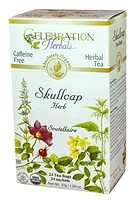 Celebration Herbals Skullcap Herbal Tea 24 Tea Bags / 37 g