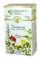 Celebration Herbals Turmeric Blend Herbal Tea 24 Tea Bags / 36 g