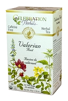 Celebration Herbals Valerian Root Herbal Tea 24 Tea Bags / 45 g