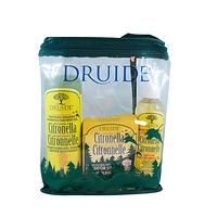 Druide Citronella Insect Repellant Outdoor Kit