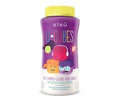 Sisu U-Cubes MultiVitamins and Minerals for Children 120 gummies