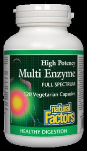 Natural Factors Multi Enzyme 60 Vcaps