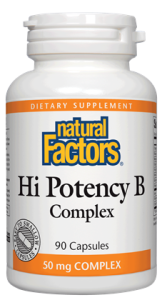 Natural Factors Hi Potency B Complex 50 mg 90 caps