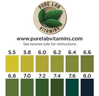 PureLab Vitamins pH Test Paper