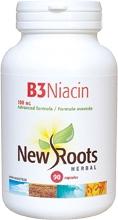 New Roots B3 Niacin 100 mg 90 caps