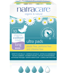 Natracare Ultra Pads Long 10-count