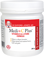 W.Gifford-Jones, MD Medi C Plus 300 g