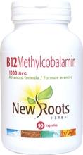 New Roots B12 Methylcobalamin 1000 mcg 90 caps