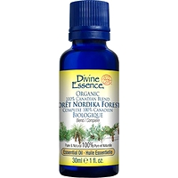 Divine Essence Nordika Forest Blend 100% Canadian Organic Essential Oils 30 ml