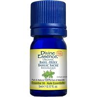 Divine Essence Essential Oil Holy Basil Organic - Ocimum sanctum 5 ml