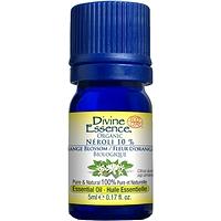 Divine Essence Essential Oil Neroli Organic 10% - Citrus aurantium ssp amara 5 ml