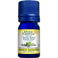 Divine Essence Essential Oil Pepper Black Organic - Piper nigrum 5 ml