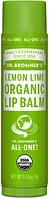 Dr. Bronner's Organic Lip Balm Lemon Lime 4 g