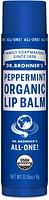 Dr. Bronner's Organic Lip Balm Peppermint 4 g