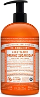 Dr. Bronner's Organic 4-In-1 Pump Soap Tea Tree 710ml