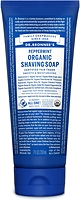 Dr. Bronner's Organic Shaving Soap Peppermint 207 ml