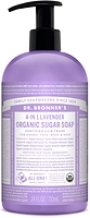 Dr. Bronner's Organic 4-In-1 Pump Soap Lavender 710ml