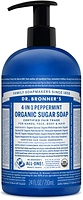 Dr. Bronner's Organic 4-In-1 Pump Soap Peppermint 710ml