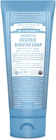 Dr. Bronner's Organic Shaving Soap Unscented 207 ml