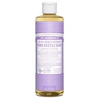 Dr. Bronner's Pure-Castile Liquid Soap - Lavender 237ml-946ml