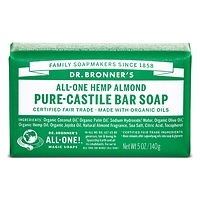 Dr. Bronner's Pure-Castile Bar Soap - Almond 140g