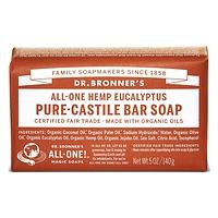 Dr. Bronner's Pure-Castile Bar Soap - Eucalyptus 140g