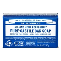 Dr. Bronner's Pure-Castile Bar Soap - Peppermint 140g