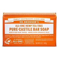 Dr. Bronner's Pure-Castile Bar Soap - Tea Tree 140g